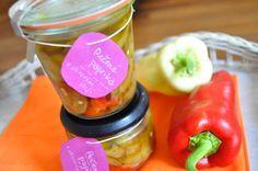 Pečené papriky naložené v oleji