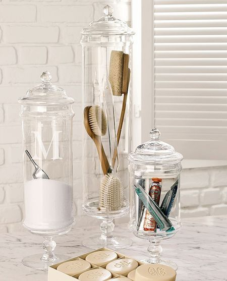 Apothecary Home Decor: Best 25+ Apothecary Jars Bathroom Ideas On Pinterest