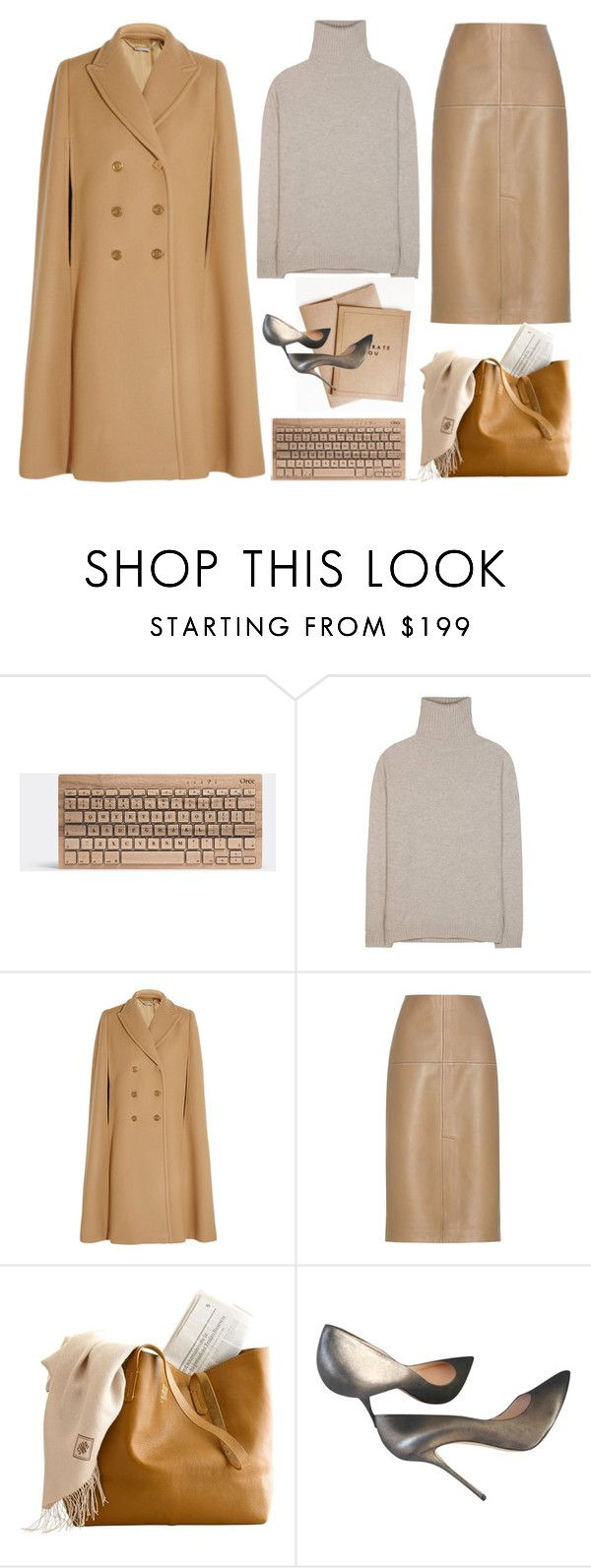 """Cool Neutrals"" by mcheffer on Polyvore featuring Jardin des Orangers, Alexander McQueen, By Malene Birger, Casadei and neutrals"