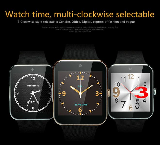Gearbest : Best Deals on Aiwatch GT08+ SmartWatch available for $37.49