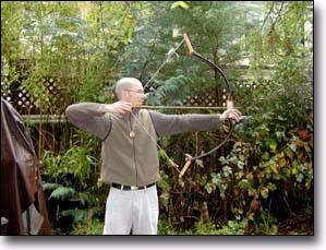 Asiatic Composite Bow by Markus Klek -- Homemade Asiatic composite bow constructed from rock maple, horn, and brass sheet. http://www.homemadetools.net/homemade-asiatic-composite-bow