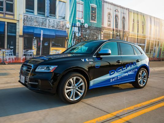 Delphi Automotive is spinning off its powertrain division as Delphi Technologies. The remaining parts of its business will called Aptiv.