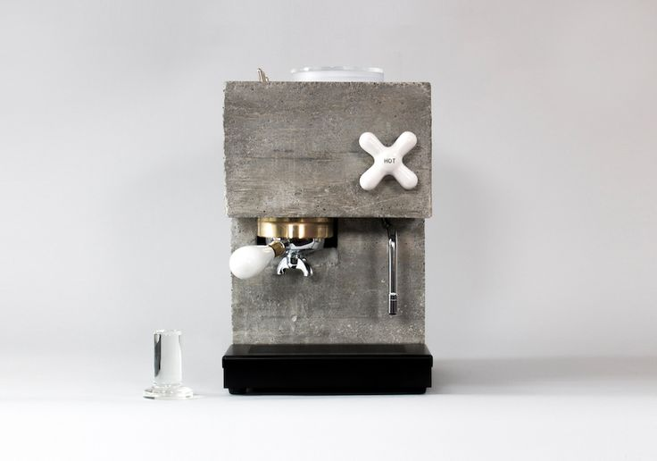 Brutalism Fans Will Adore This Beautiful Concrete Coffee Machine