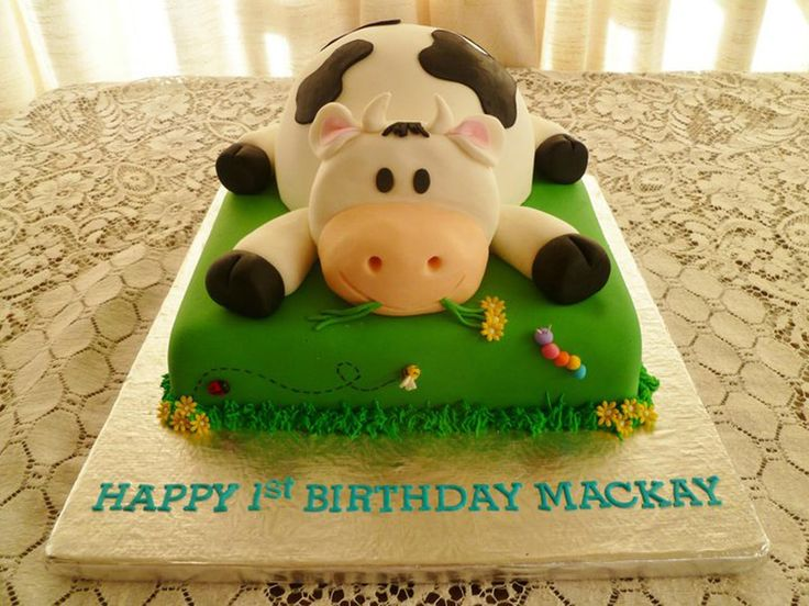 1000 Images About Cow Cake On Pinterest Cow Birthday A Cow And