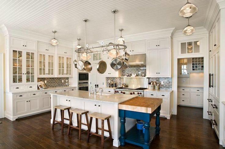 , farmhouse, sink, kitchen island, cobalt, blue, drop down, kitchen