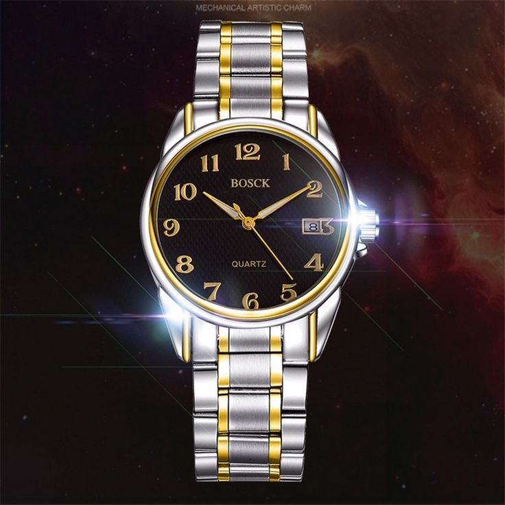 14.45$  Buy here - http://alibfh.shopchina.info/go.php?t=32750296698 - BOSCK-637 automatic mechanical movement, luxury vacation men's watch and calendar fashion watches, high-end watch brand  #bestbuy