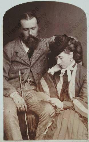 Princess Alice of the United Kingdom and Louis IV, Grand Duke of Hesse - Alix' parents