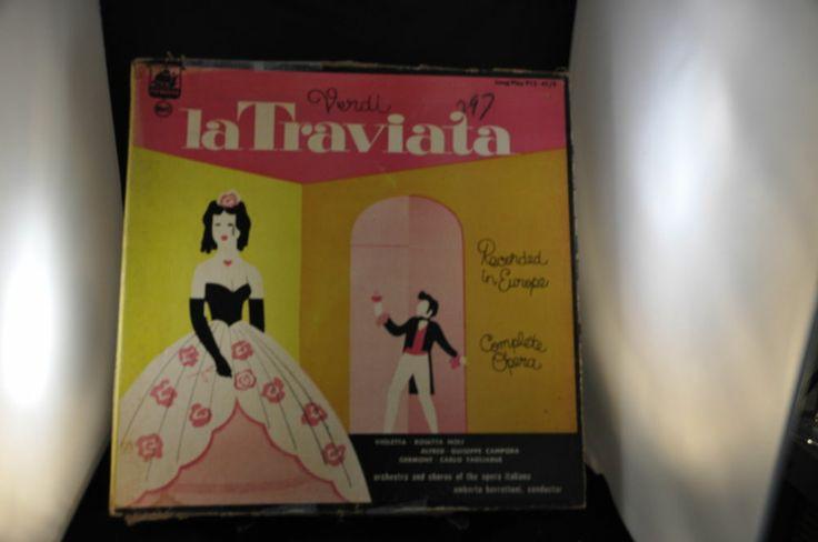 1951?  VERDI LA TRAVIATA VINYL RECORDS