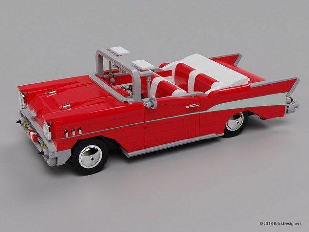 Lego Chevy Bel Air 1957 Lego Wheels Lego Cars Lego