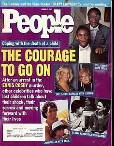 People Magazine Ennis Cosby John Walsh Bill Cosby Sally Jessie ...