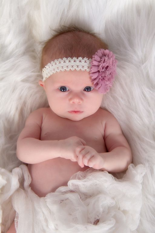 """Adorable Girlie"" <3 Portrait Creations Professional Infant Portraits in Charlotte, NC."
