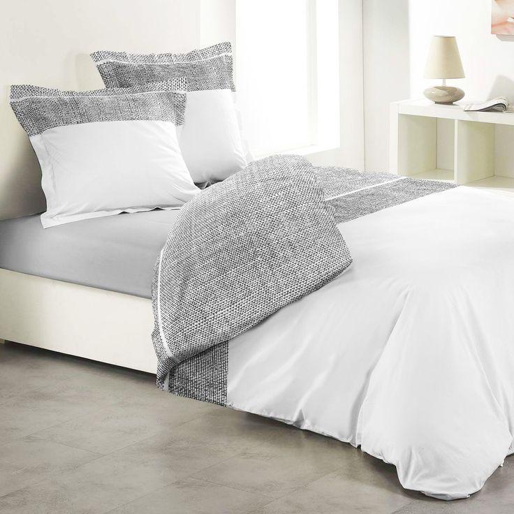 Awesome Copripiumino E Due Federe Carmina 100% Cotone (260 Cm) Bianco : Scegli Tra