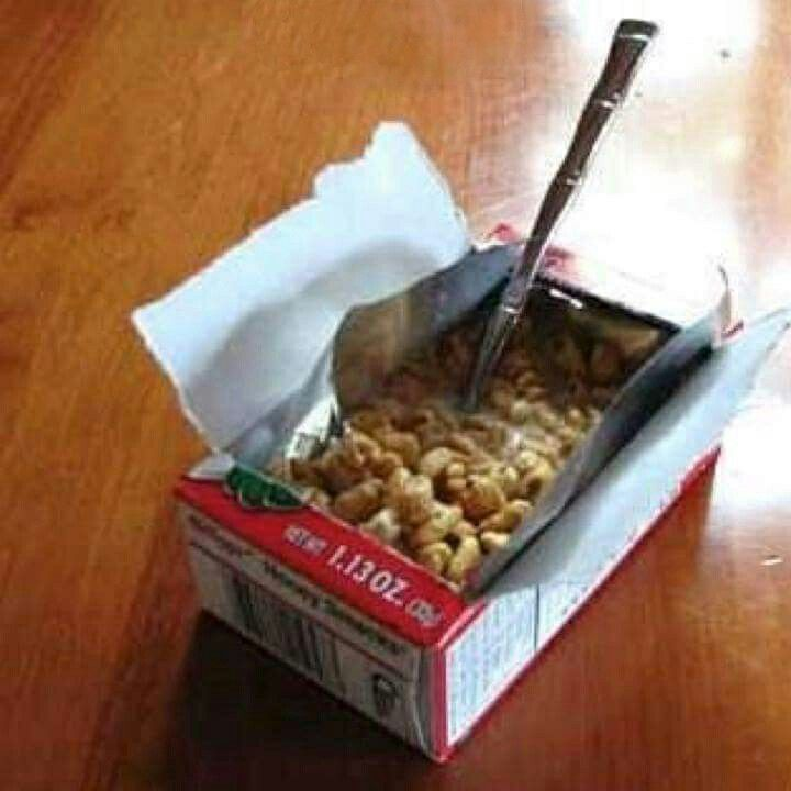 Cereal Was More Fun When Eaten Right From The Little Wax