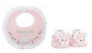 Sepatu Bayi Grosir - Bearington Bears Cottontail Kelinci Bayi Bib dan Booties Set | Pusat Sepatu Bayi Terbesar dan Terlengkap Se indonesia