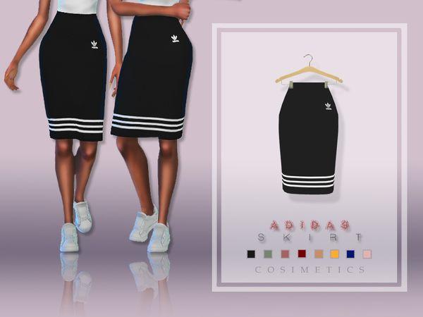 cosimetics' Adidas Skirt