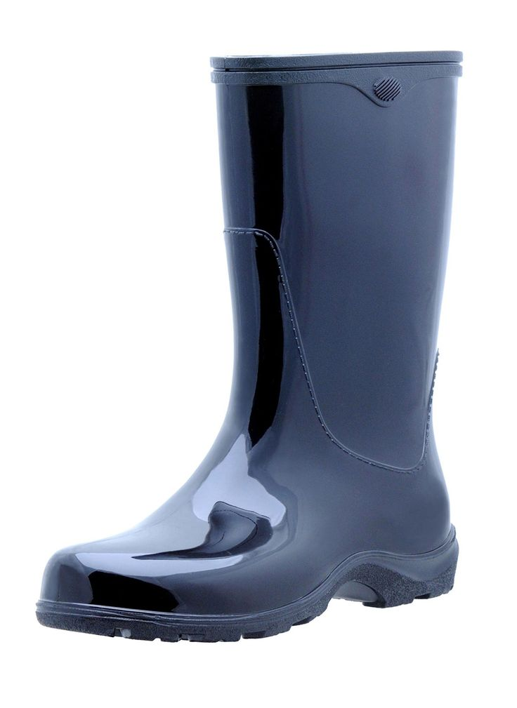 """Sloggers Rain Boots, Made in USA. """" The sole contains up to 50% recycled material and when your finished with your boots, you can send them back to us and we'll turn them back into a new pair."""""""