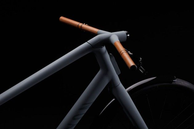 Canyon Urban Concept Bike Transport Bike Organic Black Detail