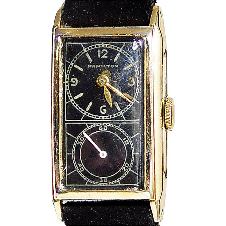 Doctor's Duo-Dial Watch, Hamilton Watch Company, c1937