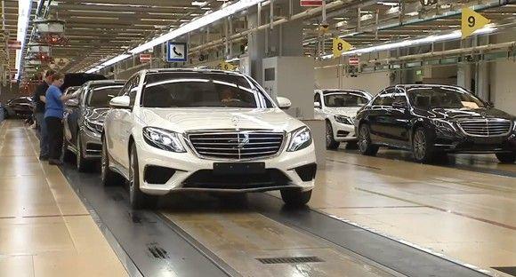 Mercedes aumenta la producción del Clase S - http://www.motoradictos.com/marcas/mercedes-benz/mercedes-aumenta-la-produccion-del-clase-s Mercedes Clase S