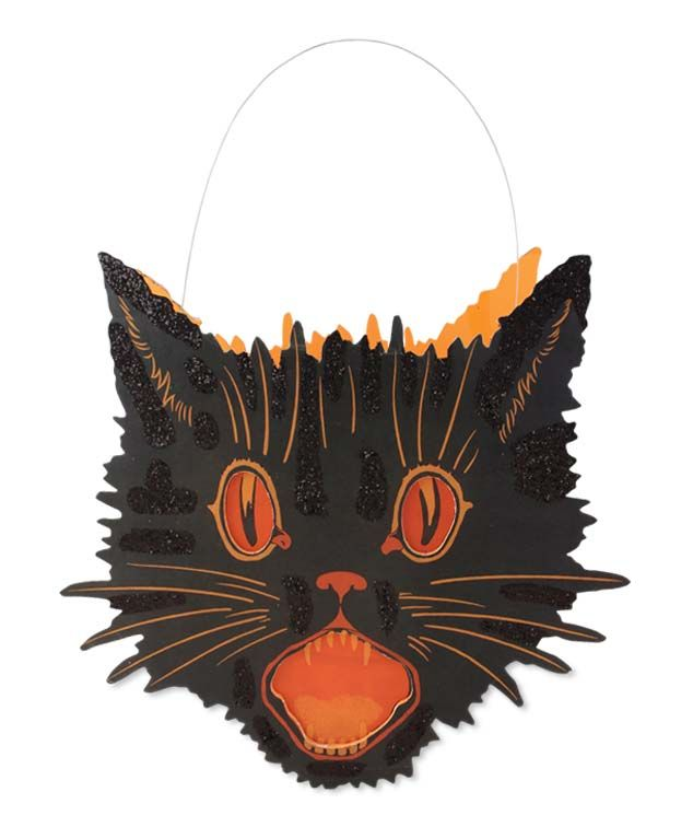 the vintage halloween store bewitching party decor - Halloween Cat Decorations