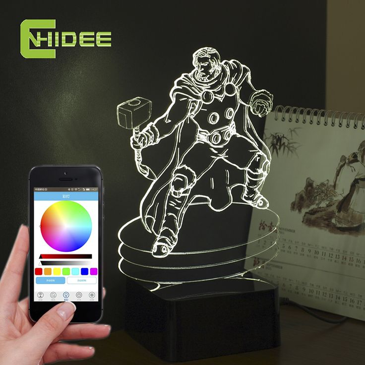Find More Night Lights Information about CNHIDEE Novelty for Bedside Lamps Thor Shaped Music Table Lamp Lamparas Mesa De Noche 3D Led Night Light as Christmas Gifts,High Quality novelty lamp shades,China lamp grill Suppliers, Cheap lamp ship from BORSCHE (HK) Electronic Co.,Ltd.  on Aliexpress.com