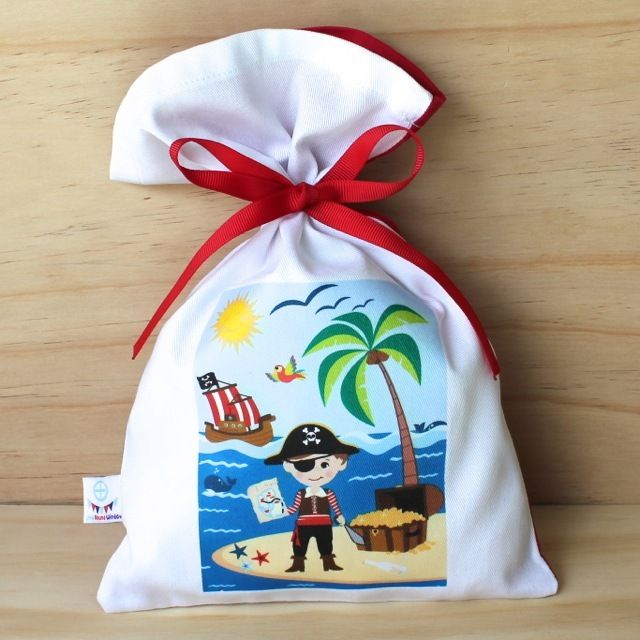 Pirate Cotton Party Bag