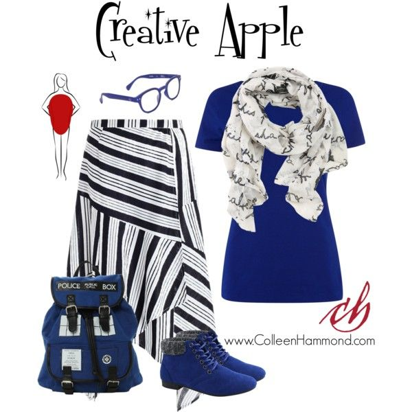 Creative Apple 2 by colleen-hammond on Polyvore featuring мода, HUGO, Zimmermann, Celebrity NYC, Hot Topic, See Concept and Disney