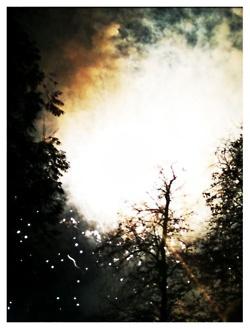 Fireworks in Victoria Park a few years ago. via my friend Krystal Rodriguez