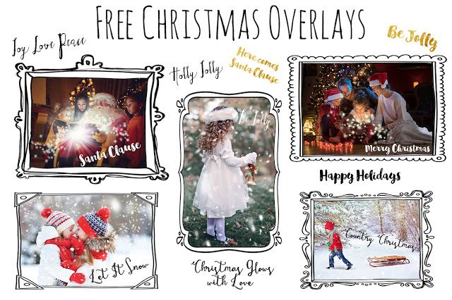 DLOLLEYS HELP: Free Christmas Word Overlays