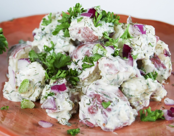 Ina's old fashioned potato salad