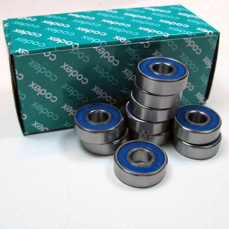 10 Stück 608 2RS SS Edelstahl codex Rillenkugellager / Kugellager   8mm x 22mm x