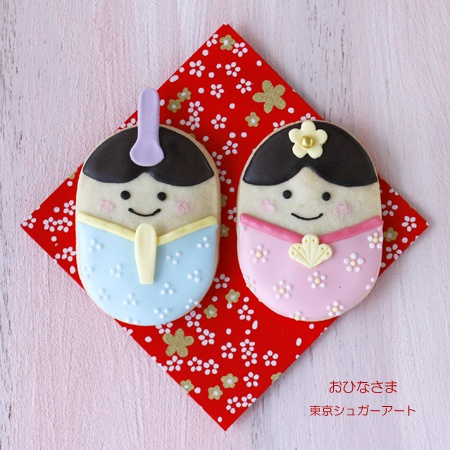 cookies for japanese girl's festival