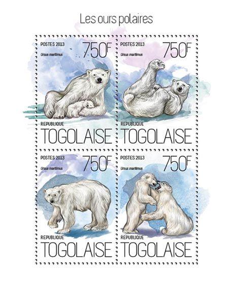TG 13814 a – Polar bears, (Ursus maritimus).