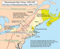 March 4, 1628 – The Massachusetts Bay Colony is granted a Royal charter.