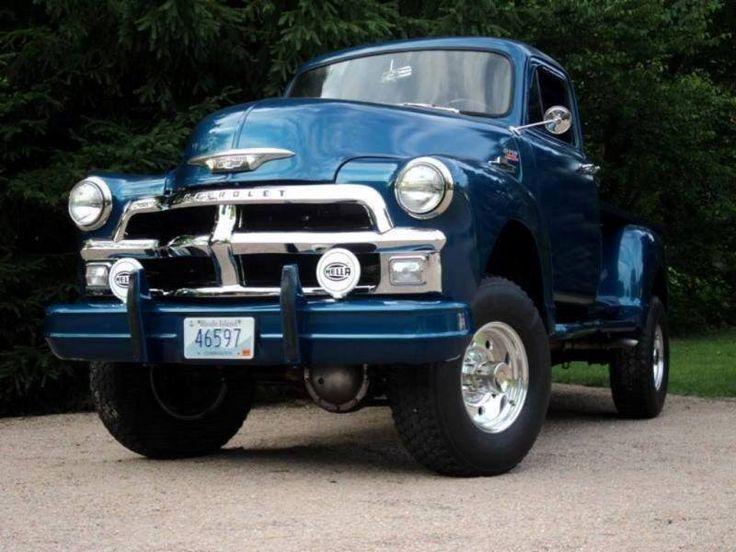 1947-1954 Klasik  Chevrolet &  4x4
