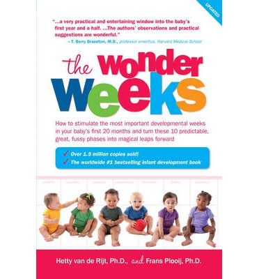 The Wonder Weeks describes in easy-to-understand terms the incredible developmental changes and regression periods that all babies go through during the first 20 months of their lives. Age-related fluctuations and the need for body contact and attention are all related to major and quite dramatic changes in the brains of children. These changes enable a baby to enter a whole new perceptual world a...
