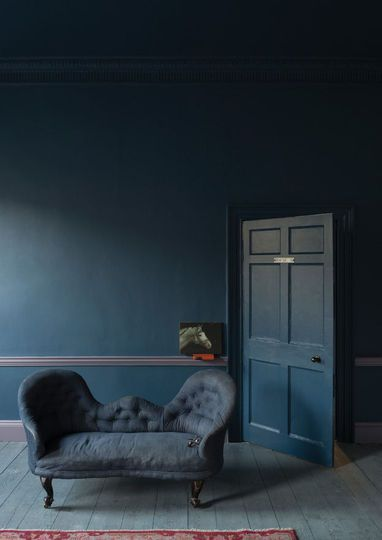 couleur peinture les nouvelles tendances living room stiffkey blue dark blue walls et. Black Bedroom Furniture Sets. Home Design Ideas
