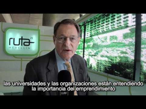 Uno de los impulsores de este evento, Ken Morse, habla de por qué Medellín es ideal para realizarlo