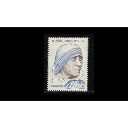 France 2010  –  Mother Theresa 1v MNH
