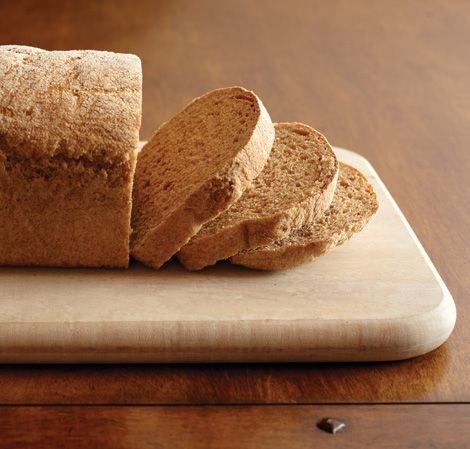 Whole Wheat Bread   ~~~~~   Hearty and healthy, this bread will be a staple for your favorite sandwiches, or enjoyed with homemade butter.