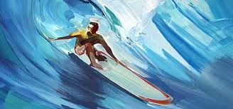 Ganadu surf art