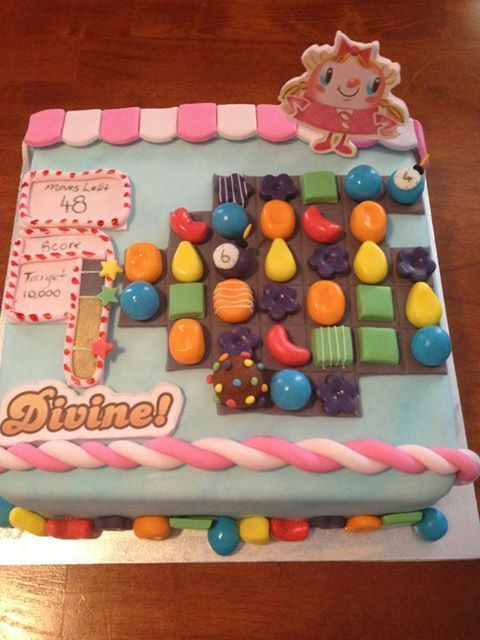 * Candy Crush Birthday Cake :) yessss, @ciarafolsom I found your bday cake!! Haha