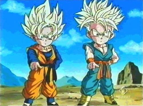 kid trunks and goten - Google Search