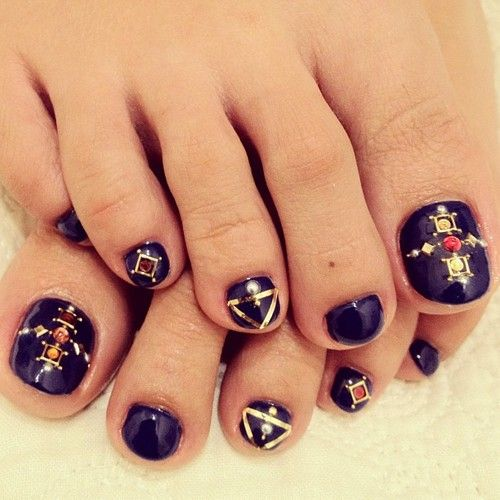 183 Best Nail Art: TOE NAILS Images On Pinterest