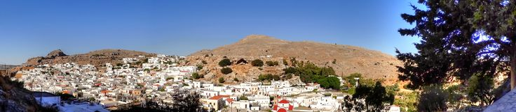 Rodos Rhodes - Lindos - a view from the Acropolis