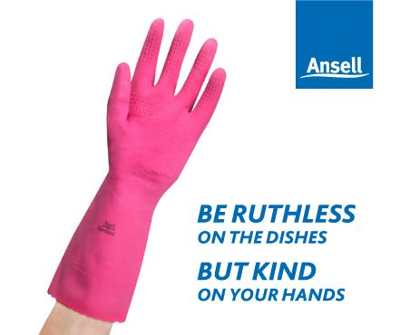 Make that manicure last longer with Ansell Silverlined Gloves. Available in Small through to Extra Large.