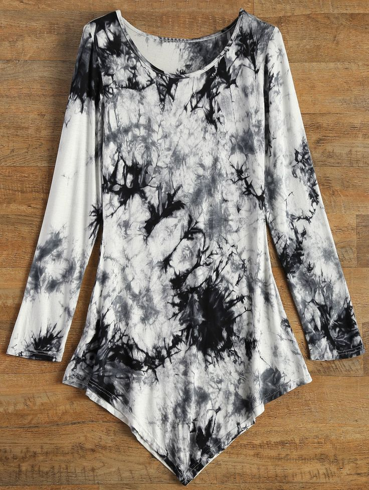SHARE & Get it FREE | Asymmetric Tie-Dyed TeeFor Fashion Lovers only:80,000+ Items • New Arrivals Daily • Affordable Casual to Chic for Every Occasion Join Sammydress: Get YOUR $50 NOW!