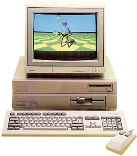 Commodore Amiga 2000,  1987 - 1991 - I got one of these when I blew up my Amiga 1200, really spent shed loads on it! Supercharged 2000! http://justintuijl.blogspot.co.uk/2015/01/my-computers.html