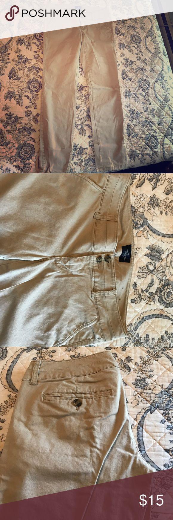 American Eagle Khaki Pants American Eagle Skinny Khakis. American Eagle Outfitters Pants Skinny