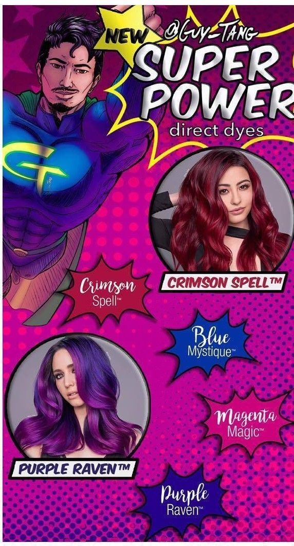 New Guy Tang Mydentity Hair Color Direct Dye Demi Permanent Boosters Full Line Ebay Hair Color Guy Tang Guy Tang Hair